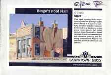 BINGOS POOL HALL - An O-Scale hydrocal kit by DOWNTOWN DECO