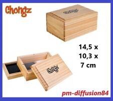 CHONGZ - SIFTER BOX - BOITE en  BOIS -  Dimensions : 14,5 x 10,3 x 7 cms