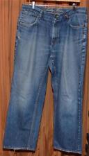 INDIGO PALMS Tommy Bahama BLUE DISTRESSED STRAIGHT LEG DENIM JEANS MENS 34 x 28