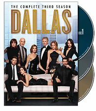 Dallas ~ Complete 3rd Third & FINAL Season 3 Three ~ BRAND NEW 3-DISC DVD SET