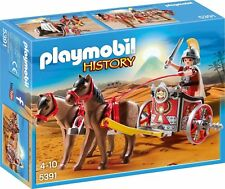 "PLAYMOBIL® History Römer 5391 ""Römer-Streitwagen"" Legionäre Cesar NEU/OVP!"