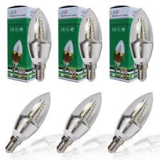 6er-PACK (6Stk.) E14 6W LED Kerzenlampe Glühbirne Kerzenbirne Sparlampe Kaltweiß