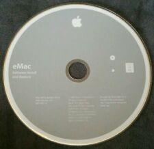 2003 Apple eMac Software Install & Restore Mac OS X 10.2.4 DVD Version 1.0