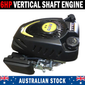 6HP Vertical Shaft Engine Motor For Ride On Or Push Mower Name Brand