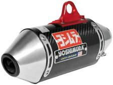 Yoshimura RS-2 Enduro Exhaust System SS-CF-SS for Kawasaki KLX110 2002-2014