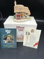 Lilliput Lane Village Shops The Toy Shop 1994 Original Box & Deed