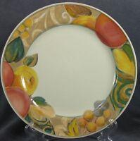 Mikasa Orchard Odyssey CAB04 Dinner Plates Stoneware Fruit