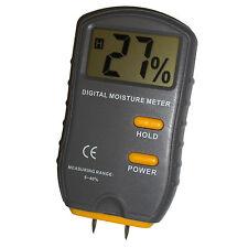HQRP Medidor digital de Humedad para Madera / Cartón / Papel JT-2G Higrómetro