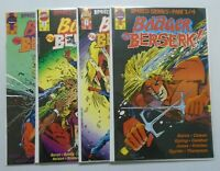 Badger Goes Berserk set:#1-4 8.5VF+ (1989)