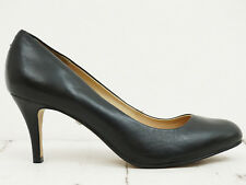 BUFFALO London ❤ Damen Pumps Gr. 39 Echtleder Schwarz Leather Shoes
