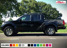 Decal Sticker Graphic Side Bed Mud Splash Kit for Nissan Frontier Off Road Sport