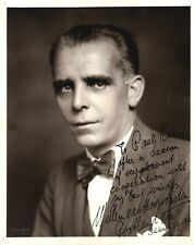 WILLEM VAN HOOGSTRATEN Violinist & Conductor signed photo, 1930