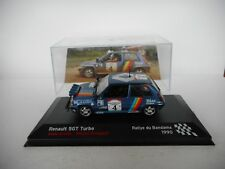 Die cast 1/43 Renault 5 GT Turbo Rally Bandama 1990 A.Oreille by Ixo