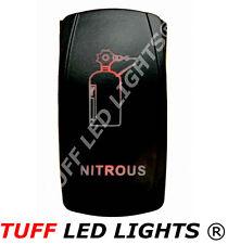 Tuff LED Lights - 2 way Rocker Red Nitrous Switch high quality!