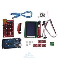 RAMPS 1.4 Kit RepRap 3D Drucker USB Arduino Mega2560 5X A4988 Treiber LCD 12864