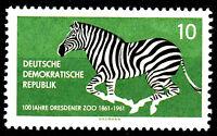 825 postfrisch DDR Briefmarke Stamp East Germany GDR Year Jahrgang 1961