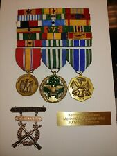 3 U S Military Medals and 18 Merits
