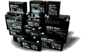 Ultramax Lithium Iron Phosphate LiFePO4 / Li-PO4 / LFP Battery With Built-In BMS