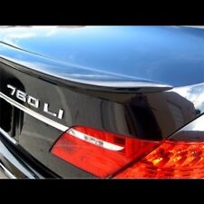 UNPAINTED REAR LIP SPOILER FOR 2002-2005 BMW 7 SERIES - NO DRILLING REQUIRED