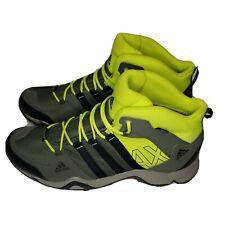 Adidas AX2 Mid GTX Gore-Tex Gray/Yellow/Black Men's US Size 13 Hiking Boots EUC!
