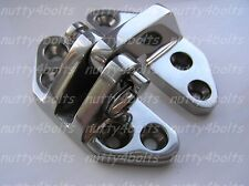 HEAVY DUTY STAINLESS STEEL HATCH HINGE 74 X 65mm A4- 316 MARINE BOAT HATCH HINGE