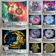 Sun Moon And Stars Tapestry Throw Wall Hanging Home Decor Blanket Bedspread Mat