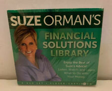 SUZE ORMAN'S FINANCIAL SOLUTIONS LIBRARY 9 DVD SET NEW SEALED 2014