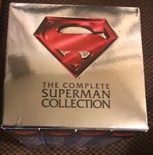 Complete Superman Collection VHS, 2001, 4-Tape Set Superhero Movie Collector Lot