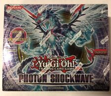 Yugioh Photon Shockwave 1st Edition 24-Count Booster Box TCG CCG Cards