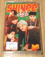 SHINee 1of1 1 of 1 5TH Album LIMITED CASSETTE TAPE + FOLDED POSTER SEALED
