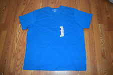 New Mens EDDIE BAUER Wave Blue Pocket Basic T Shirt Size XL X-Large