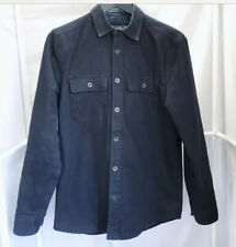 Gilded Age Insulated Navy Peak CPO Jacket Men's Size Small Blue