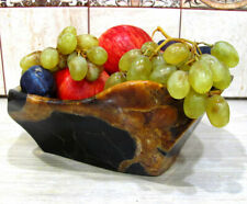 Vase from a natural stone of a simbircite (calcite). Handmade. Russia