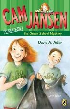 Cam Jansen: the Green School Mystery #28-ExLibrary