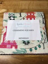 "Lewis /& Irene Littondale Charm Pack 42 X 5/"" Charming Squares CLT Quilt Fabric"