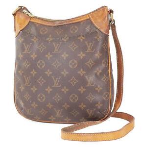 Authentic LOUIS VUITTON Odeon PM Monogram Shoulder Tote Bag Purse #39063