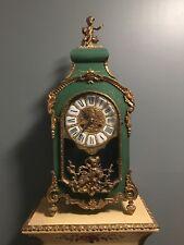Franz Hermle French StyleItalian Made Mantle Clock Painted Angel Cherub Z40