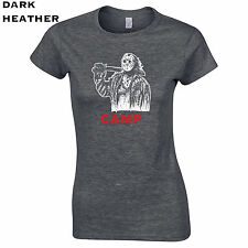 021 Jason camp Womens T-Shirt crystal lake 80s movie horror scary mask culture