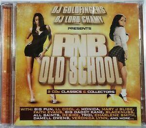 DOUBLE CD DJ GOLDFINGERS - RNB OLD SCHOOL neuf sous blister