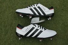 BNIB NEW ADIDAS ADIPURE III XTRX TRX SG FOOTBALL BOOTS WHITE UK SIZE 8.5 mania