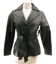East 5th Women's Black Leather Jacket Size PS NWT MSRP $225