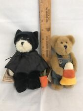 "BOYDS / The Head Bean Collection/ Set of 2 Halloween 6-7"" Cuties! w/Tags"