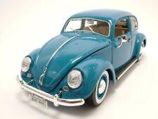 VW ESCARABAJO 1955 Azul, Coche Modelo 1:18 / BURAGO