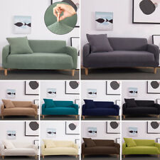 Universal Fleece Sofa Cover Elastic Slipcover Non-slip Seat Couch Stretch Covers