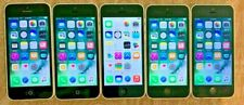 Lot of 5 - Apple iPhone 5c, 8GB , White, VZW A1532 (CDMA/GSM) clean ESN, iCloud