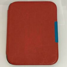 Red Thin Leather Case for Barnes and Noble Nook GlowLight