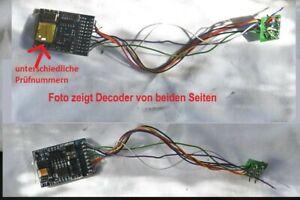 Roco 10738 Multiprotokolldecoder, lastgeregelt (ESU Lokpilot V3, OEM)