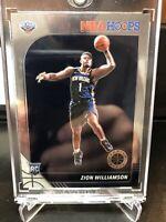 2019-20 NBA Hoops Premium Stock RARE Variation Zion Williamson RC #258 Rookie