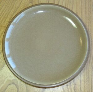 Denby CINNAMON Plate Luncheon or Breakfast Accent