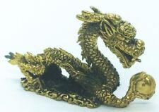 Amulet Dragon  Brass  Miniature  Talisman Love  Charm  Magic  Thai  Pendant